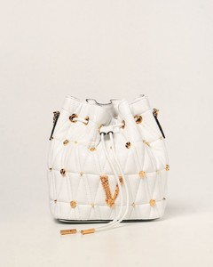 Virtus bucket bag in quilted nappa