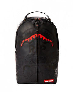 GG Supreme fabric and leather clutch
