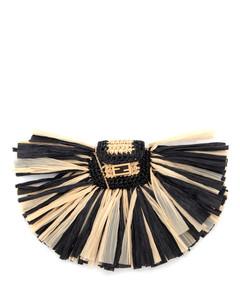 Pico Baguette Charm Necklace Crossbody Bag