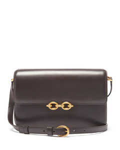 Le Maillon medium leather shoulder bag