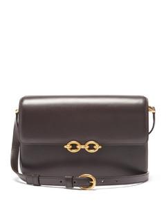 Le Maillon medium leather shoulder bag