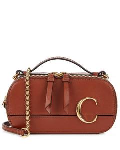 C Vanity mini leather cross-body bag