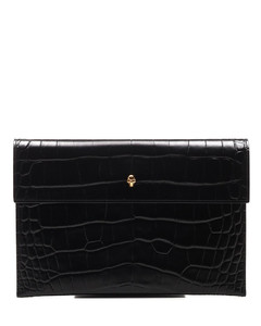 Skull Envelope Clutch