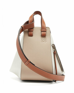 Hammock small leather tote bag