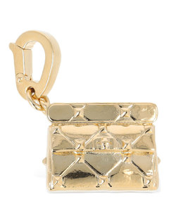 Leather Card Holder with Chain