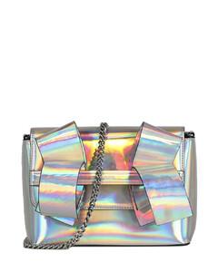 Handbag CORSSBODY Calfskin Rivets logo red