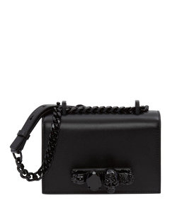 Small Jewelled Satchel Bag