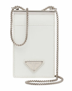 Leather Chain Card Holder