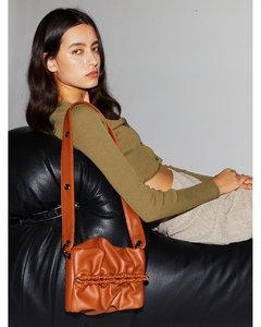 Strap Bun Bag S - Tan
