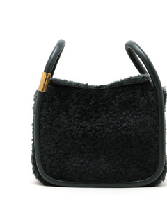 Wonton 25 shearling bag