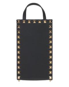 Small Leather Rockstud Shoulder Bag