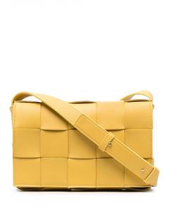 Cassette Leather Shoulder Bag