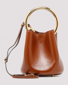 Pannier brown bucket bag