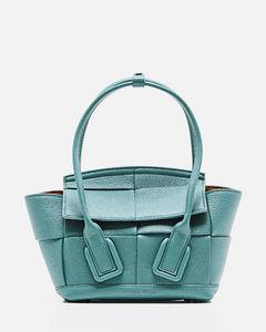 Callie metallic leather clutch