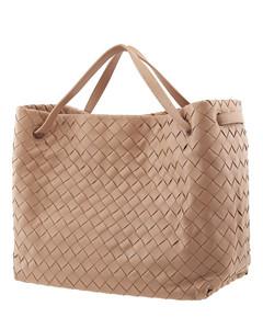 Ladies Intrecciato Weave Tote Bag