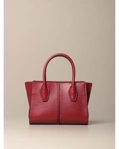 Lee shopping bag in leather with shoulder strap