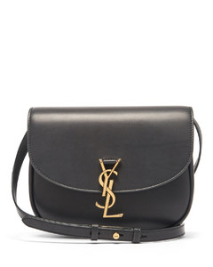 Kaia medium YSL-plaque leather cross-body bag