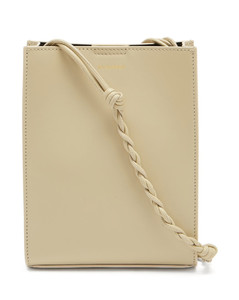 Tangle small braided-strap leather shoulder bag