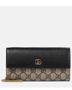 GG Marmont皮革手拿包