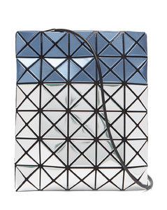 Platinum Mermaid bi-colour PVC cross-body bag