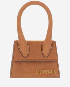 Mid Indigo Leather Wristlet Clutch