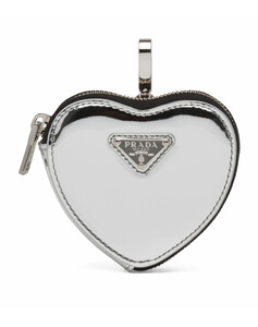 Mini Leather Heart Pouch