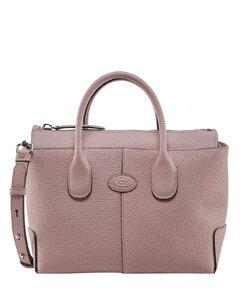 Medium Woven Leather TB Bag