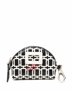 Handbag MARCIE MINI XS Calfskin Logo grey