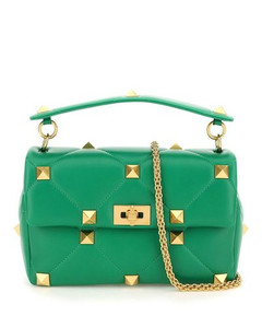 Baguette leather small bag