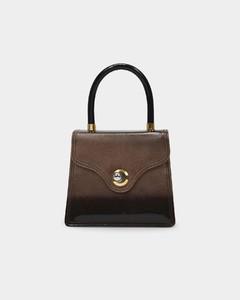 Lady 15 Handbag In Grey Leather
