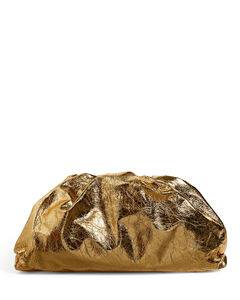 The Pouch Metallic Clutch Bag