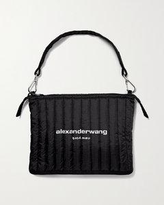Elite Quilted Printed Ripstop Shoulder Bag