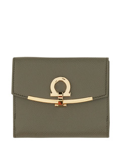 Quinton Leather-Wool Chain Bag