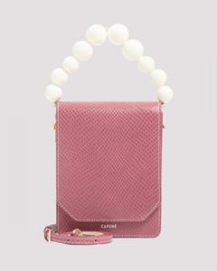 CafunéBellows Crossbody Mauve Bag
