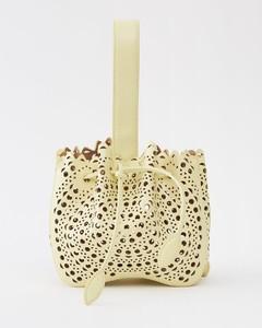 Jackie navy leather shoulder bag