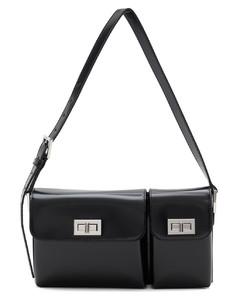 Studded Outline Fursten Belt Bag