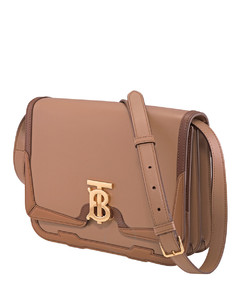 Floral-print small washbag