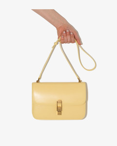 Yellow CarréCross Body Shoulder Bag