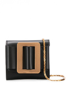 Buckle Leather Wallet