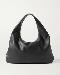 Everyday Textured-leather Shoulder Bag