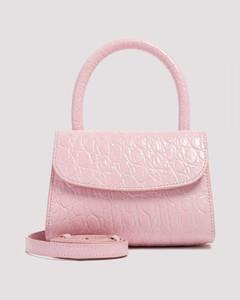 Mini Circular Croc Bag