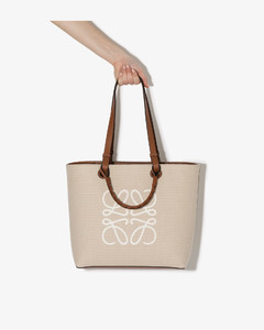Neutral Anagram Canvas Tote Bag