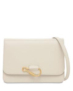 Hook Leather Shoulder Bag