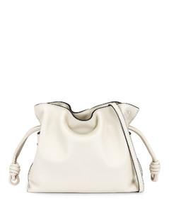 Flamenco Clutch Mini Bag in White