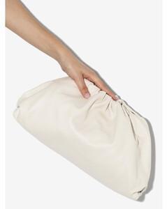 neutral The Pouch large leather clutch bag