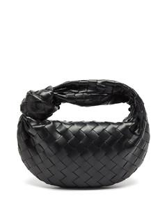 The Jodie mini Intrecciato leather clutch bag