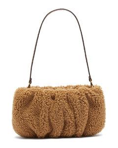 Bean shearling-fleece shoulder bag
