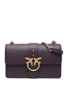 Lucent Metallic Tote Bag in Green