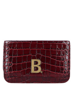 Handbag B WALLET Calfskin Embroided logo boreau