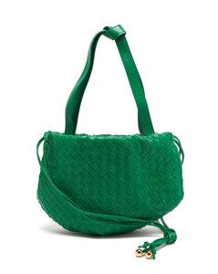 The Bulb small Intrecciato leather cross-body bag